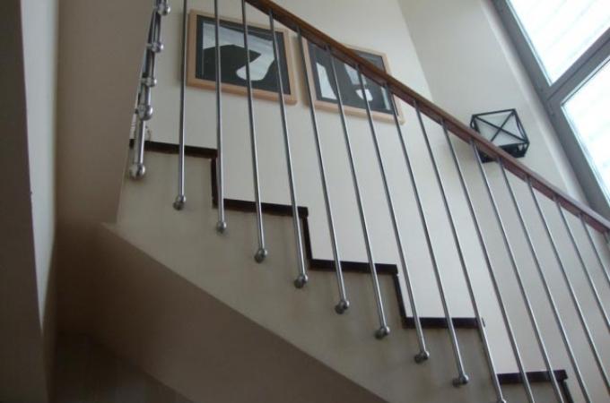 Barandas acero inox servitja for Escaleras verticales