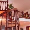 Escalera-Caracol-madera-torneada