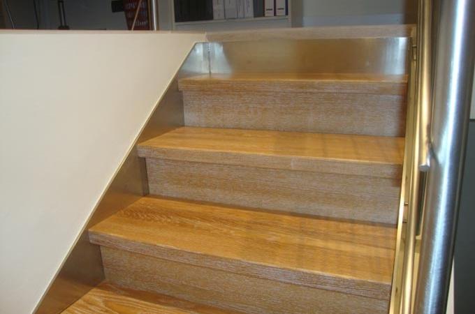 Zancas acero inox y pelda os madera servitja - Peldanos de madera para escalera ...