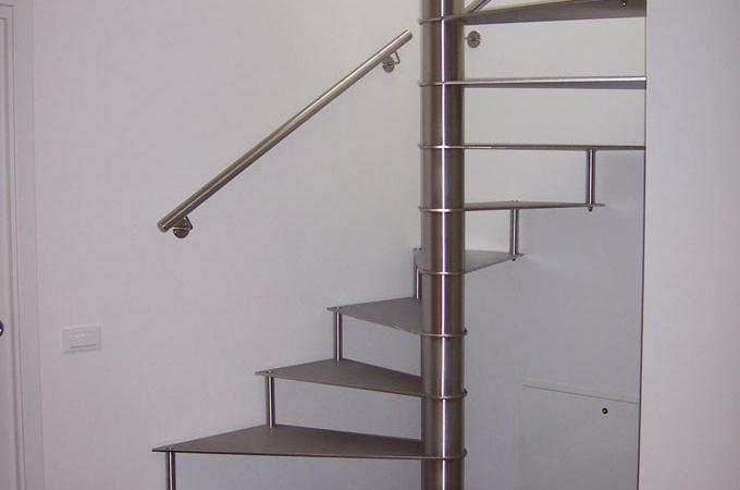 Escaleras caracol acero inox servitja - Escaleras de caracol barcelona ...
