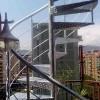Escalera-de-Caracol-galvanizada