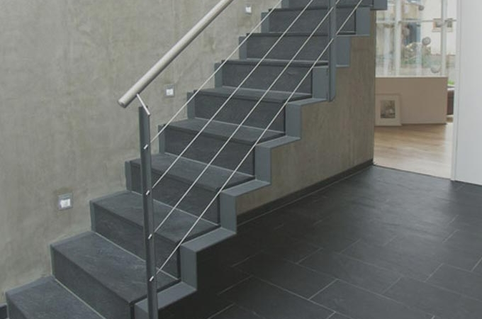 Escaleras chapa plegada servitja for Escalera exterior de acero galvanizado precio