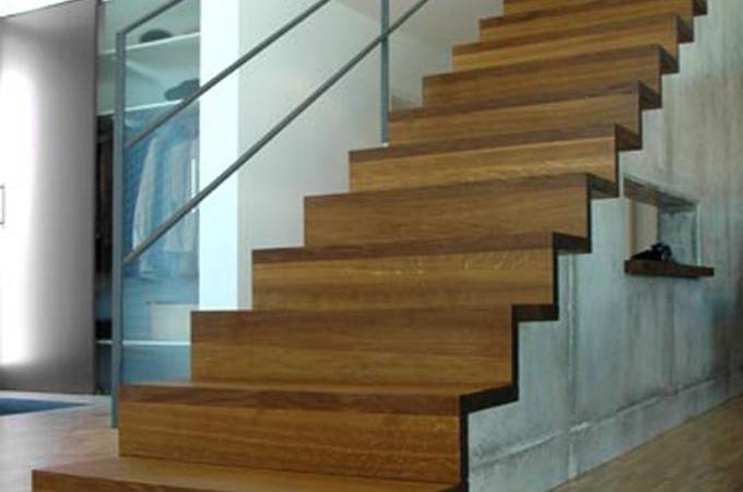 Revestimientos servitja - Peldanos de madera para escalera ...